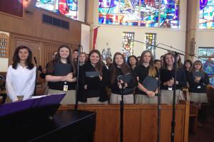 SJV Choir Sings at Saint Clement's Church