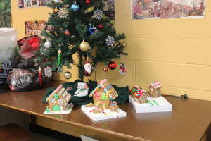 Culinary Club Hosts Annual Gingerbread Contest