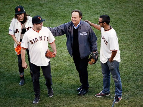 Robin Williams Honored at the World Series