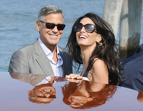 George Clooney Gets Married