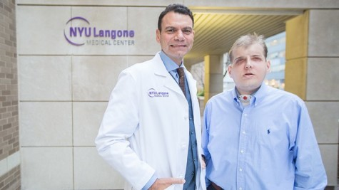 "Firefighter Undergoes ""Most Extensive Face Transplant in History"""