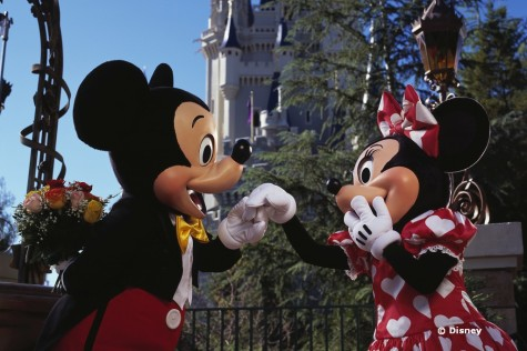 Watch Out Cupid! Here Comes Mickey and Minnie