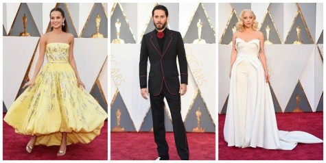 Oscars' Red Carpet Looks