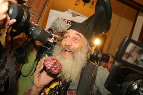 Vermin Supreme: Riding Our Ponies into a Zombie Apocalypse