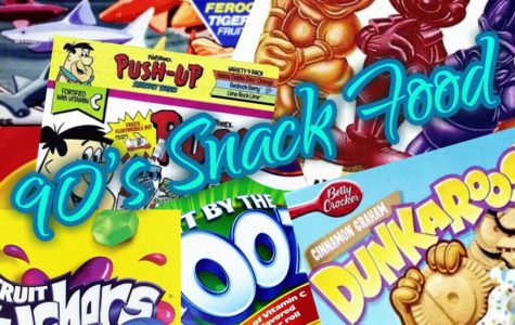A Throwback to 90's Snacks