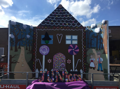 2016 Homecoming Floats