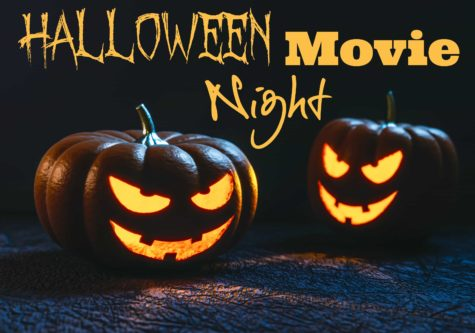 Halloween Movie Night DIY