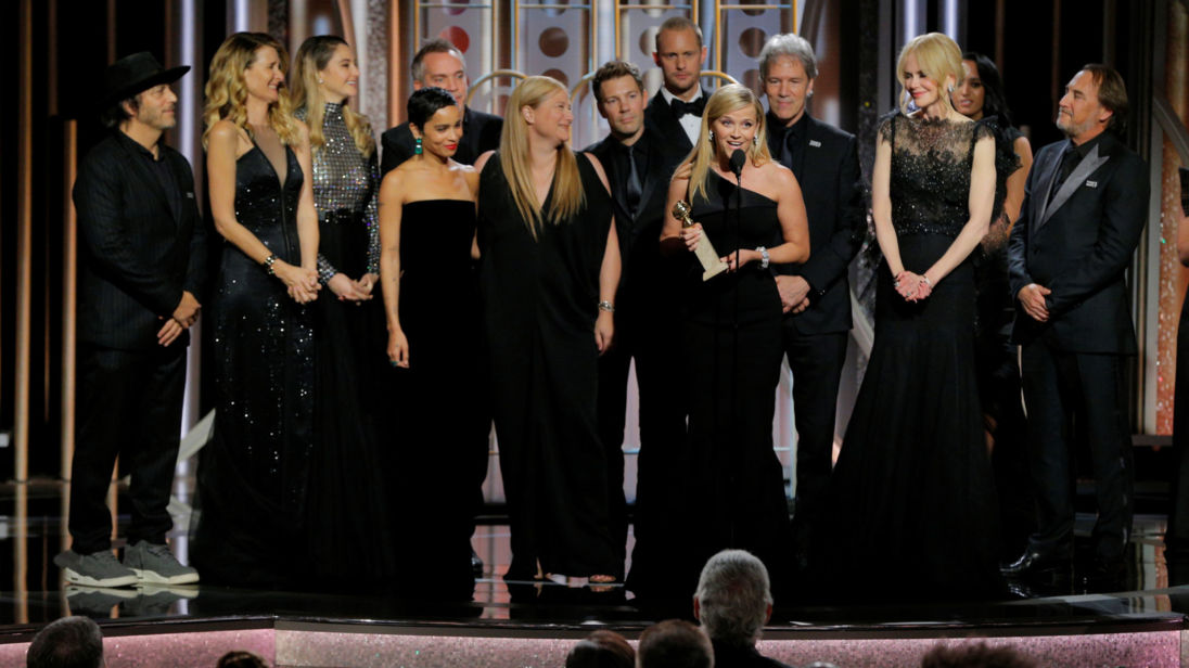 Reese Witherspoon holds the award for Best Television Limited Series or Motion Picture Made for Television for