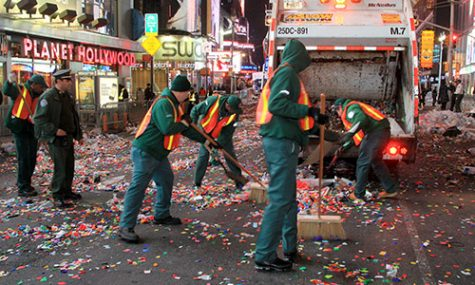 NYE Cleanup in New York City